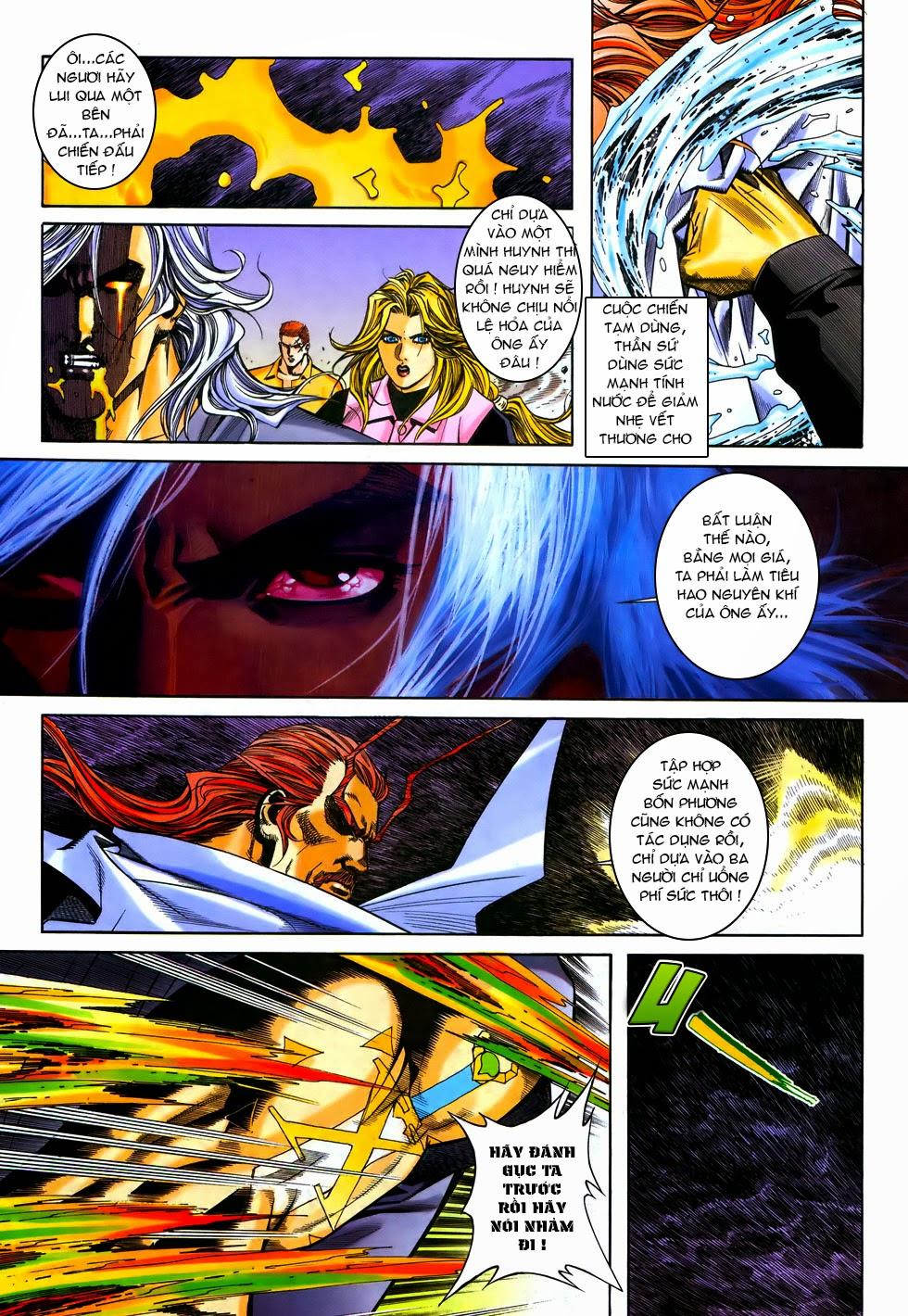 X Bạo Tộc chap 67 - Trang 15
