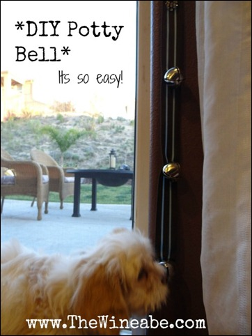 Easy DIY Potty Bell