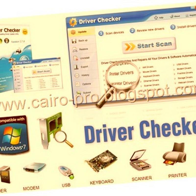 Driver checker 2.7.4 full versiondownload  برنامج تنزيل التعريفات وحفظها