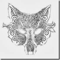 mascara de zooro animal para imprimir  (2)