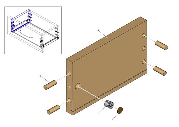 Иллюстрация порядка сборки мебели