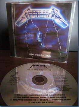 Metallica Ride The Lightning 1