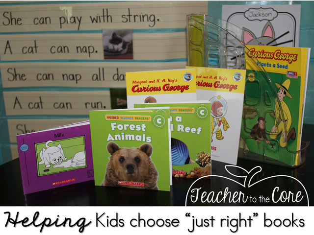 Choosing -just right- books for book boxes is easy with the rule of 5 freebie and these great tips