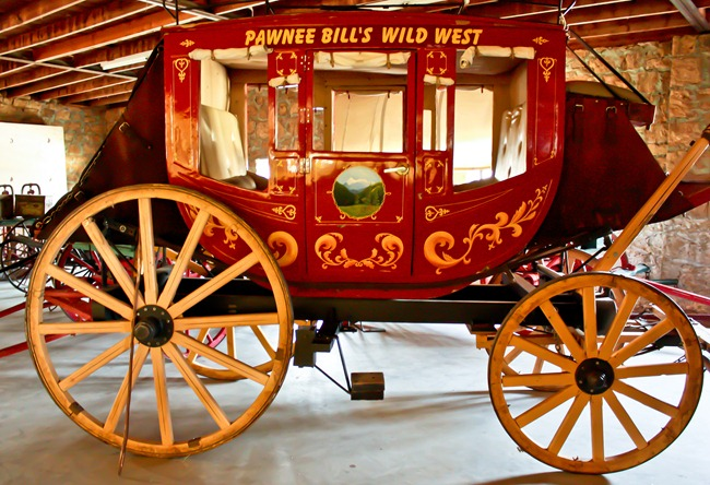 wild west stagecoach
