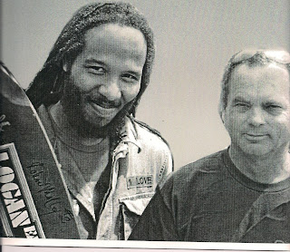 Bruce met up with Ziggy Marley for a day of skating together in 2007.