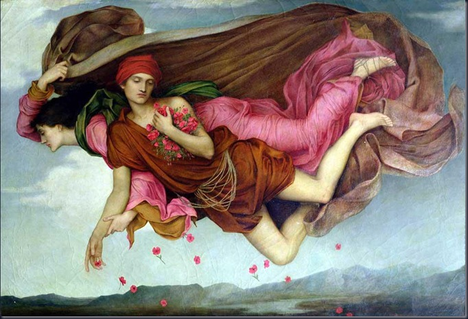 Evelyn De Morgan,night and sleep