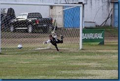 2do. gol de unifut balon al fondo del arco