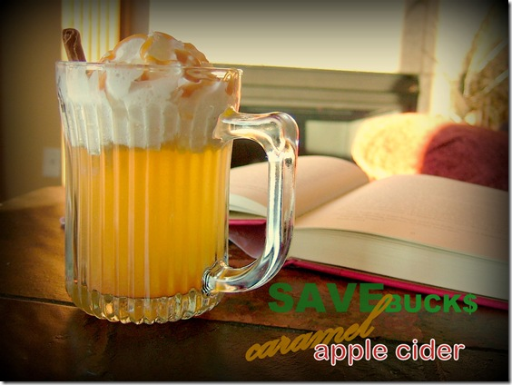 Starbucks' caramel apple cider