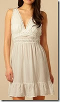 B by Ted Baker White Broderie Chemise
