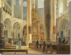 Interior-Of-The-Franciscan-Church,-Salzburg
