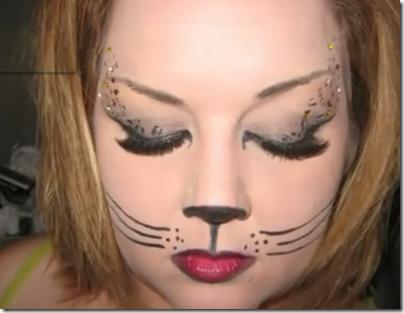 maquillaje de gata sexy