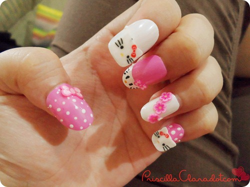 Priscilla review Felize nail art 10_副本