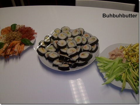 Buhbuhbutter corso sushi 3