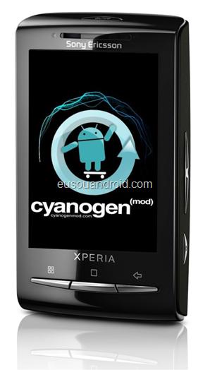 Especialista Xperia X10 Mini cyanogenmod