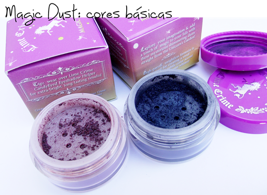 Magic Dust Lime Crime - Cores basicas