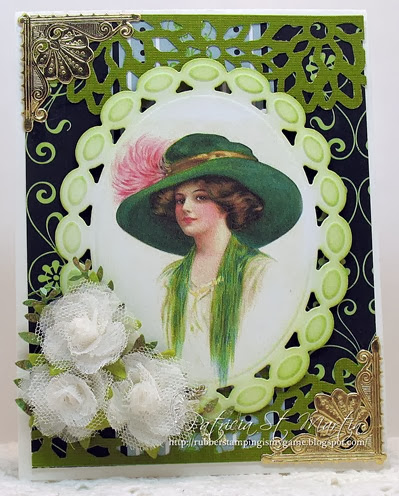 Pretty in the Green Hat 2014