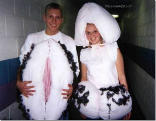 Odd halloween costumes for couples creepy 18 photos thechobble