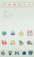 Screenshot of Monster Dodol Theme
