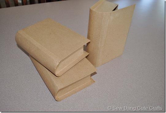 Cardboard books