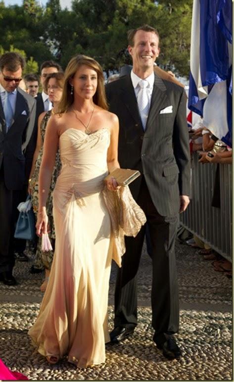 El príncipe Joaquín y la princesa Marie de Dinamarca