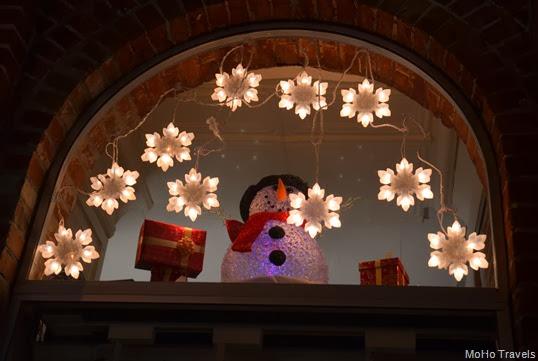 Downtown Grants Pass at Christmas