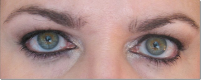Rimmel Special Eyes after 2 hour