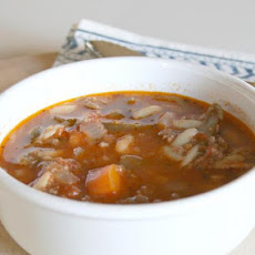 Quick Hamburger Stew/Soup