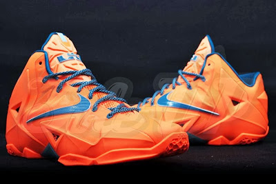 nike lebron 11 gr hardwood knicks 2 06 HWC esque Nike LeBron 11 is in Fact Miami vs. Akron