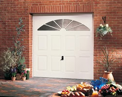 Garador Stamford GRP door in white