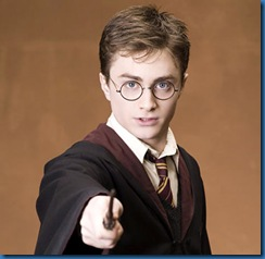 Harry Potter the famous youg wizard