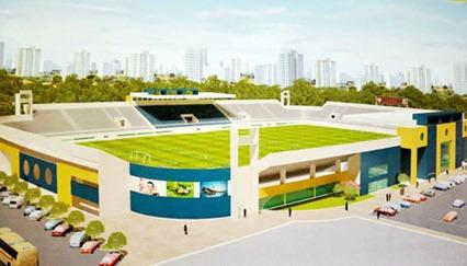 novo estádio de futebol Nogueirão em Mossoró