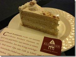 Nusssahnetorte Café Kleimann