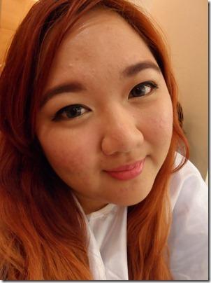 Priscilla Laneige Beautiful Blogger Challenge Eyebrow