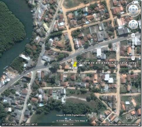 Localização da quadra pelo google-480