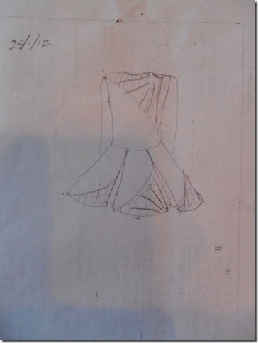 Photo 9 dress sketch