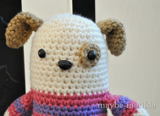 Crochet Puppy by maybe matilda