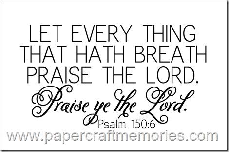 Psalm 150:6 WORDart