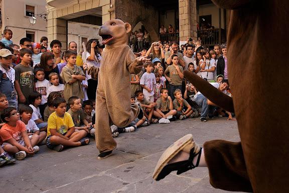 Els óssos. Festa major de Solsona. Solsona, Solsonès, Lleida