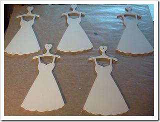 Wood dress ornaments - primed