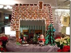 Westin Gingerbread house