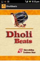Screenshot of Dholi Beats