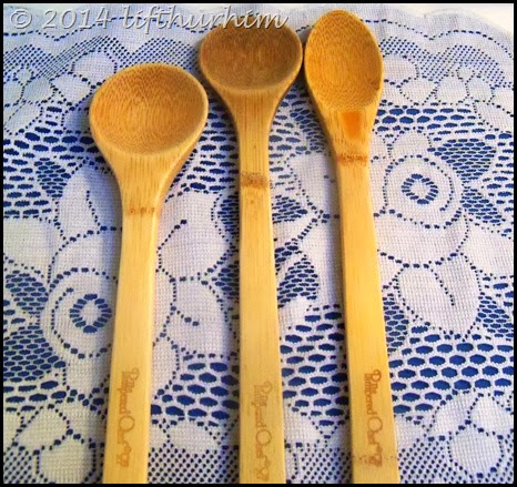 My Favorite Spoons Pampered Chef Bamboo Spoons