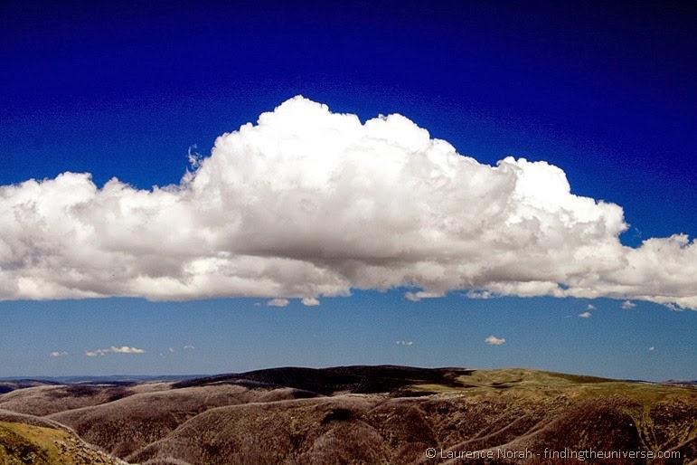 Wolken über Mount Bogong - Victoria - Australien