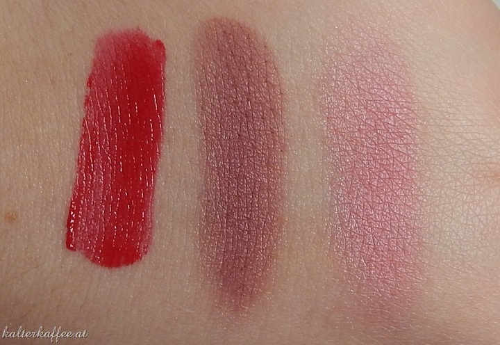 Bourjois Rouge Velvet Swatch