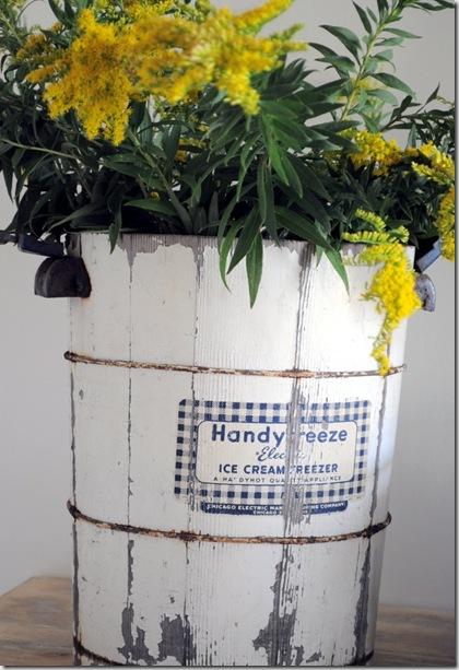 bucket of golden rod