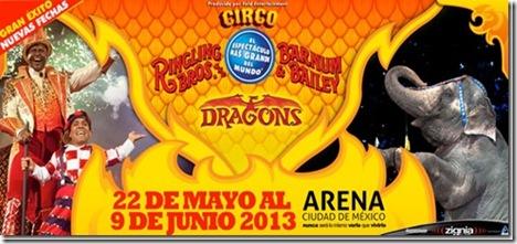 Ringling Bros and Barnum todas las fechas y boletos para el circo en mexico 2013