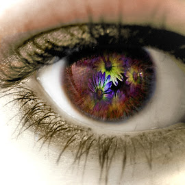 Eye.... by Amanda Coertze - Abstract Macro ( eye,  )