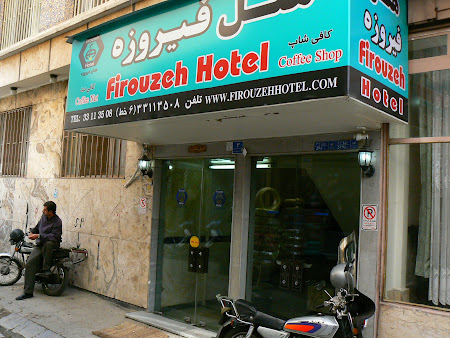 Cazare Iran: Hotel Firouzeh Teheran.JPG