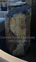 H36 X 24 to 30 Basalt Column Fountain