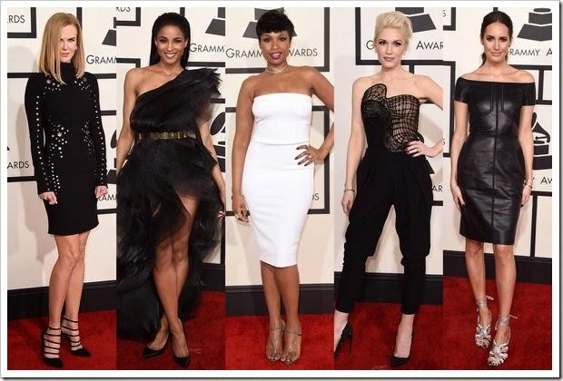 Alfombra roja premios Grammy 2015 (2)